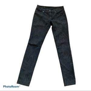 Dl1961 Emma Denim Legging Ikat Pattern size 25